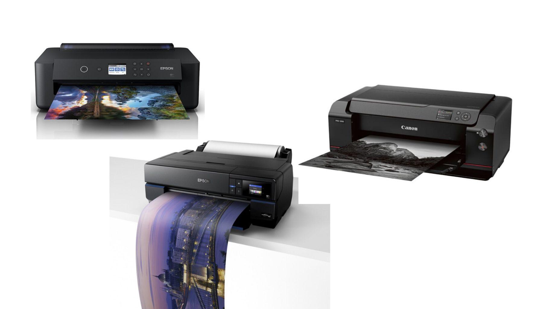 Verschiedene Fine Art Drucker