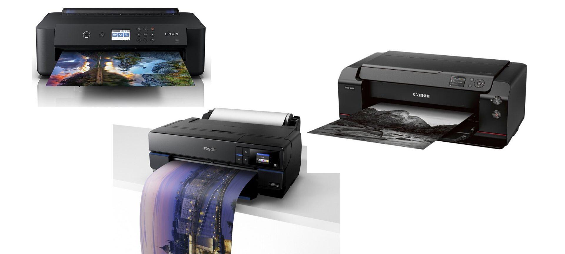 Aktuelle Fine Art Drucker  bis A2, meine Empfehlungen.