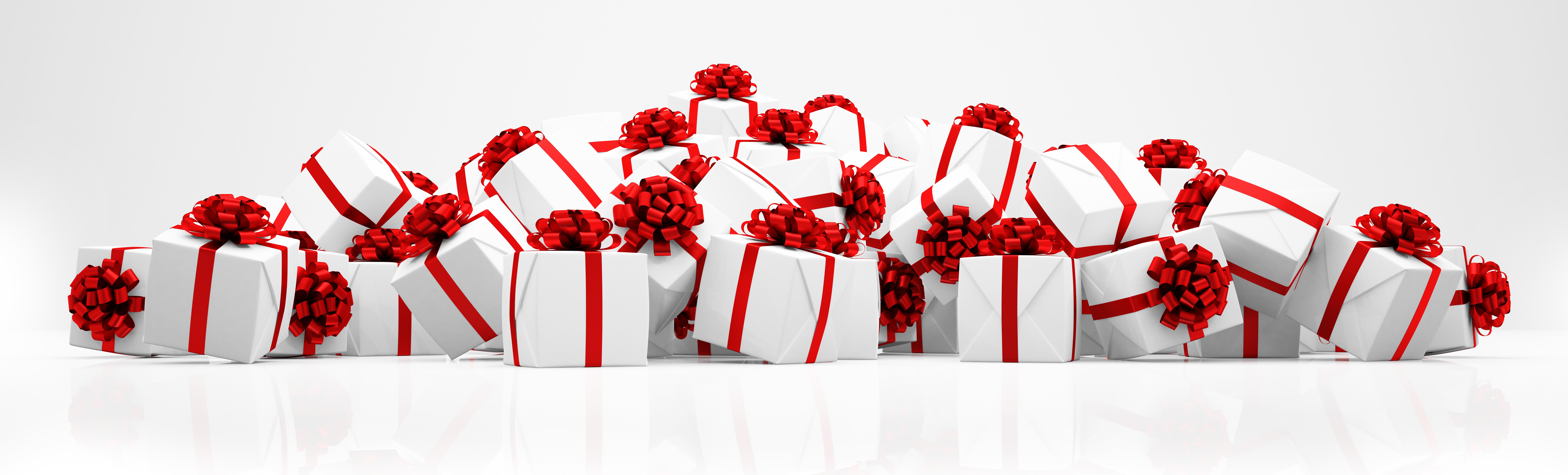 Rechtzeitig an die Weihnachtsgeschenke denken.