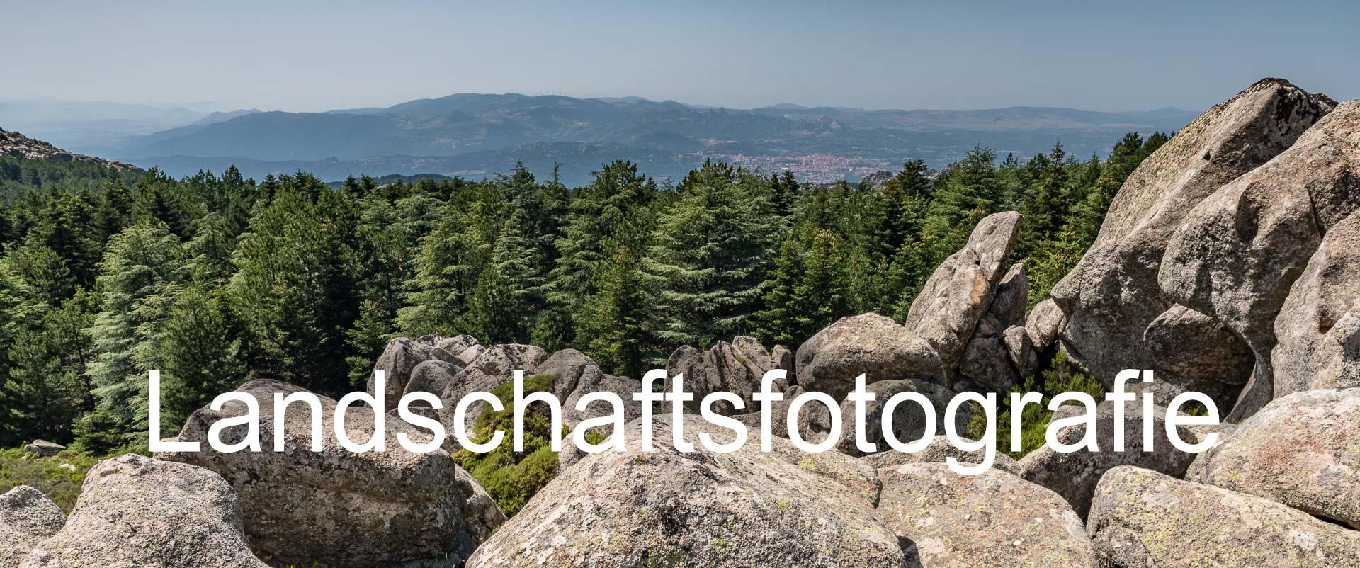 Landschaftsfotografie, mein Praxislehrgang, Einführung / Überblick.
