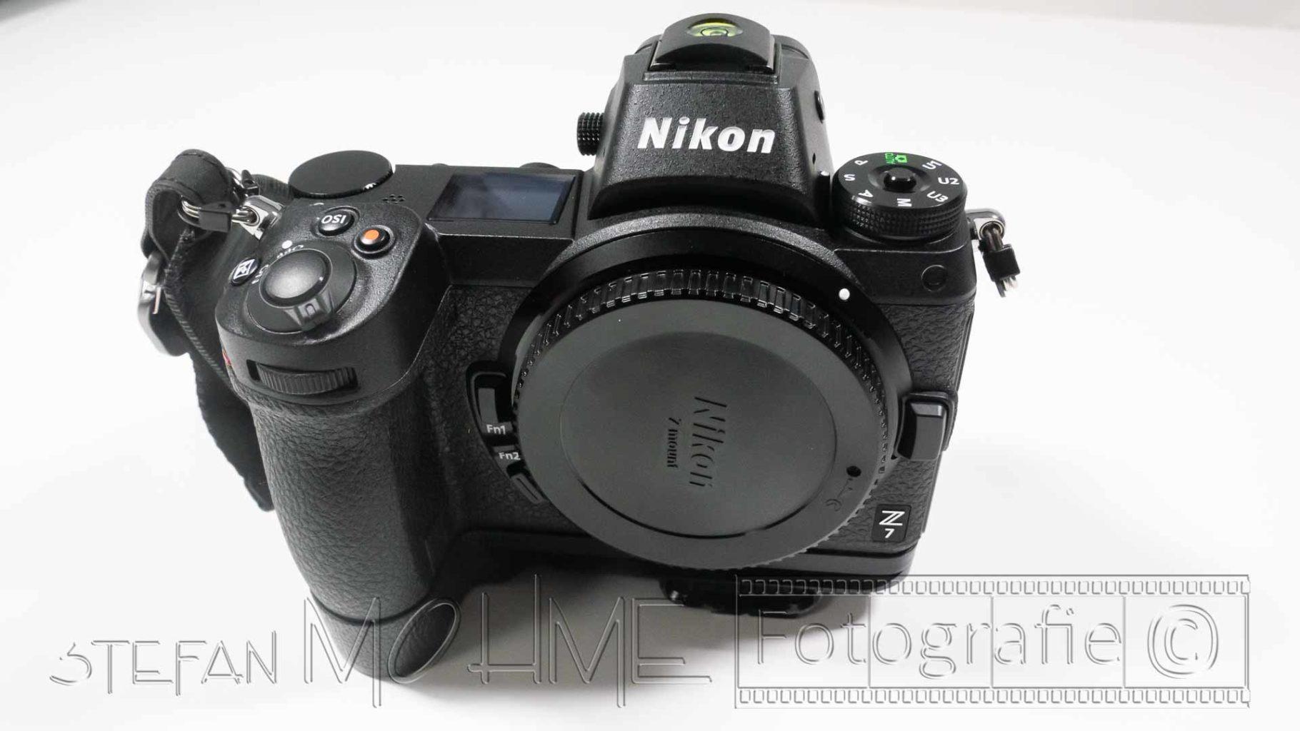 Nikon z7 Nahaufnahme Body vorne