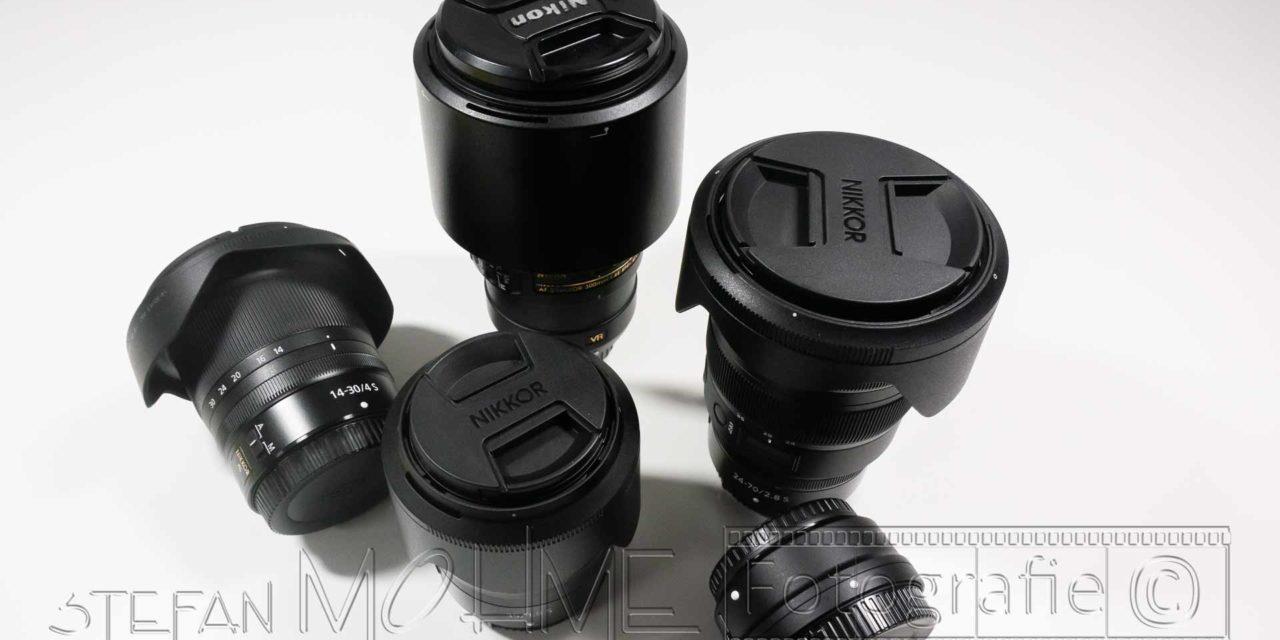 Nikon z Objektive Nahaufnahme