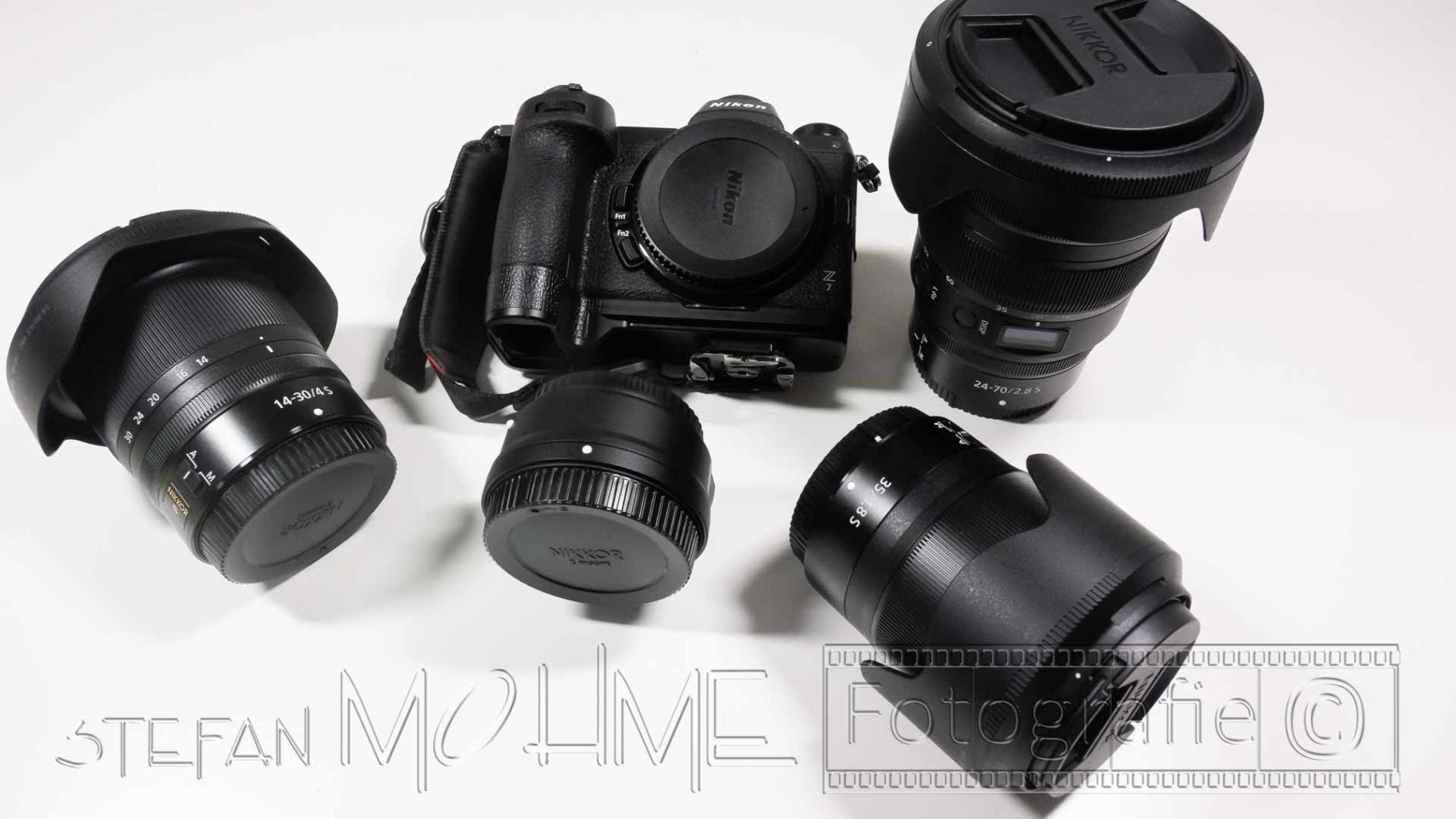 Nikon z Objektive Nahaufnahme und z7