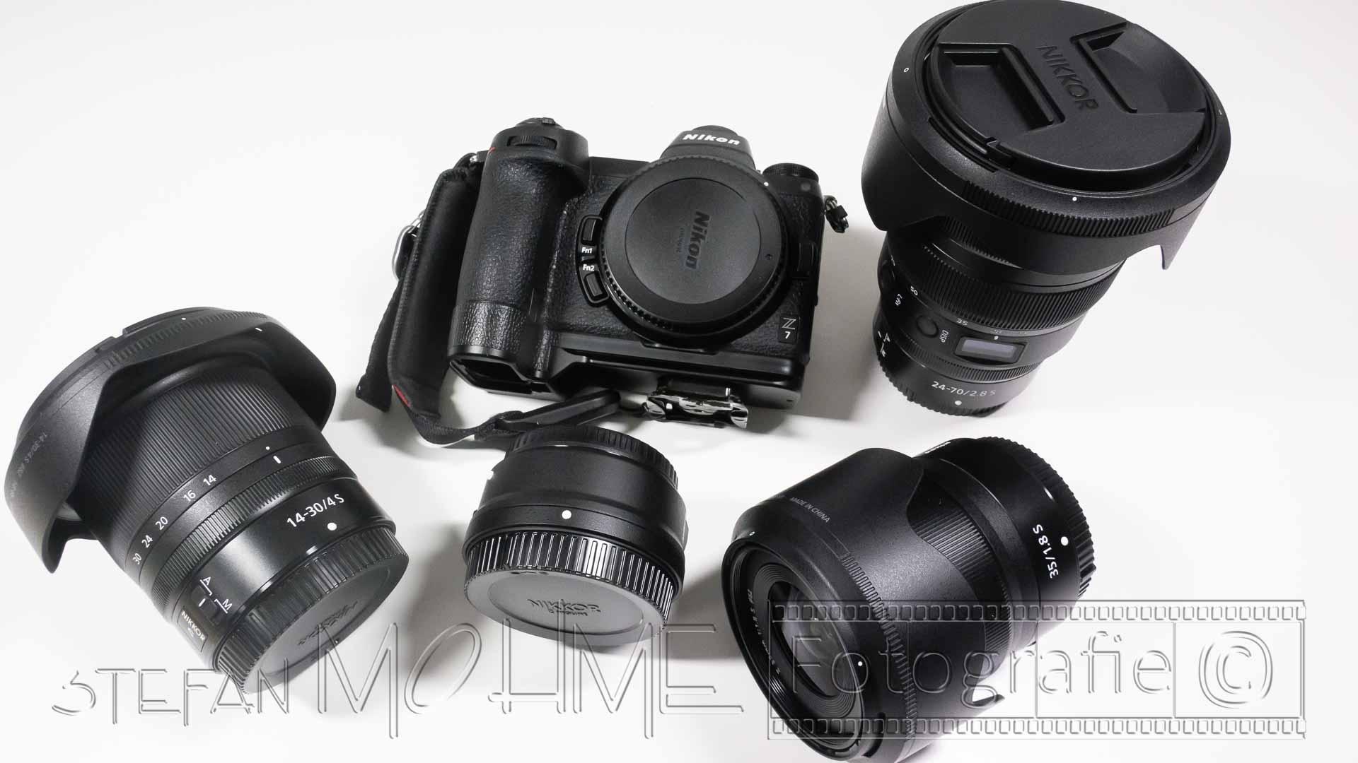 Nikons spiegelloses Kamerasystem, das z System Teil 2, die Objektive