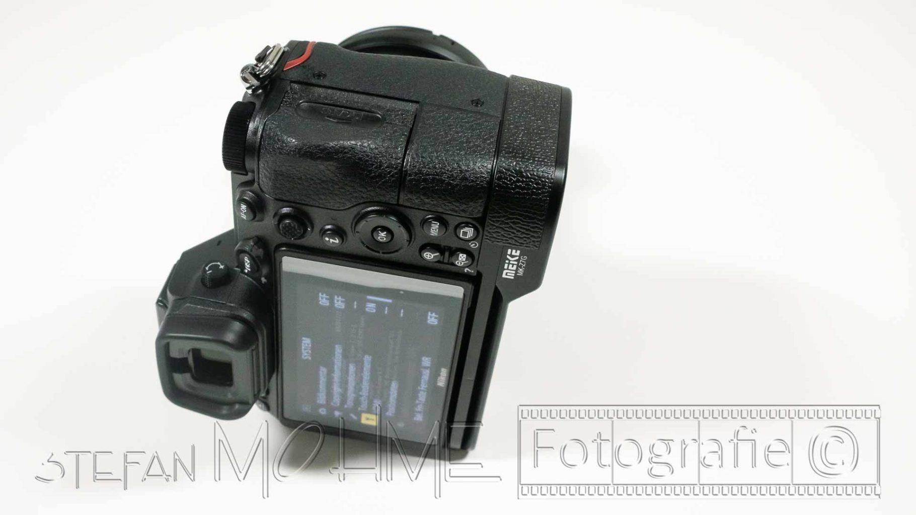 Nikon z7 Rückseite