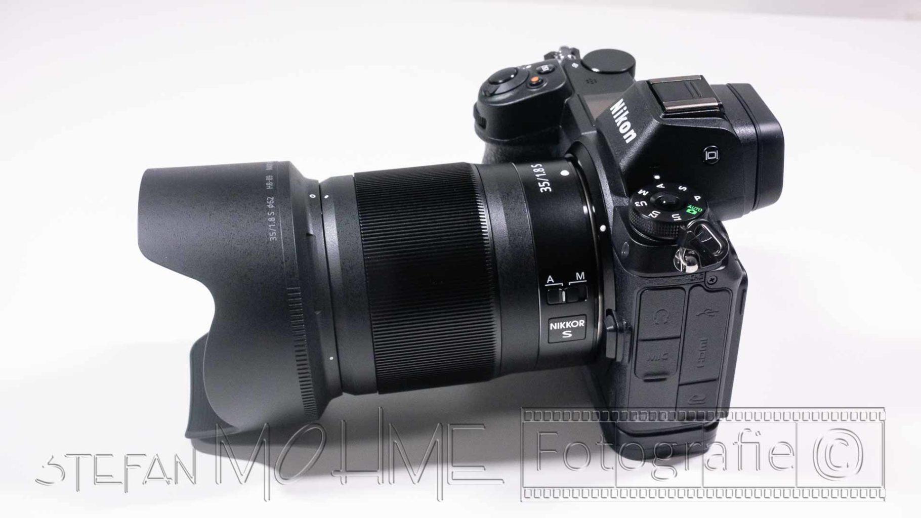 Nikon 35mm F/1,8 s-Line Objektiv & Nikon z7