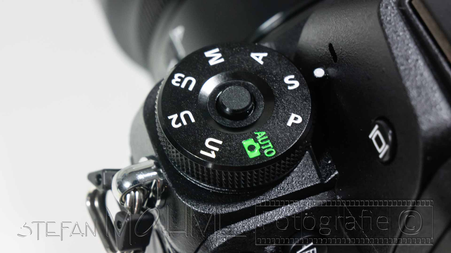 Nikon z7 Programmwahlrad Nahaufnahme,Kameraautomatik
