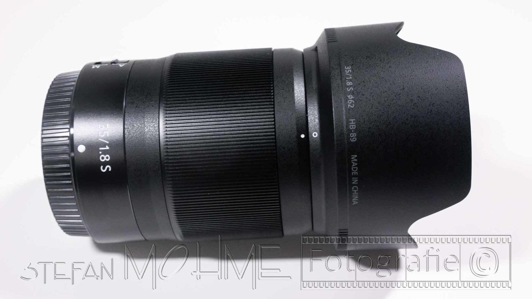 Nikon 35mm F/1,8 s-Line Objektiv