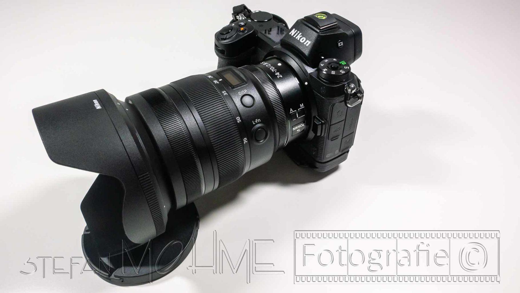 Nikon z7 und 24-70mm F/2,8 Objektiv