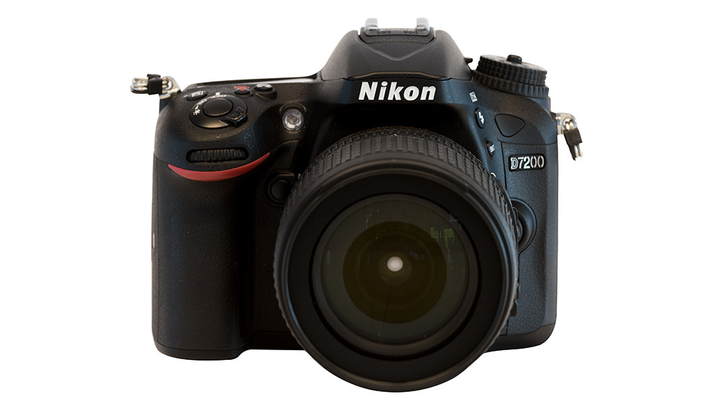 Nikon D 7200 Kamera Nahaufnahme
