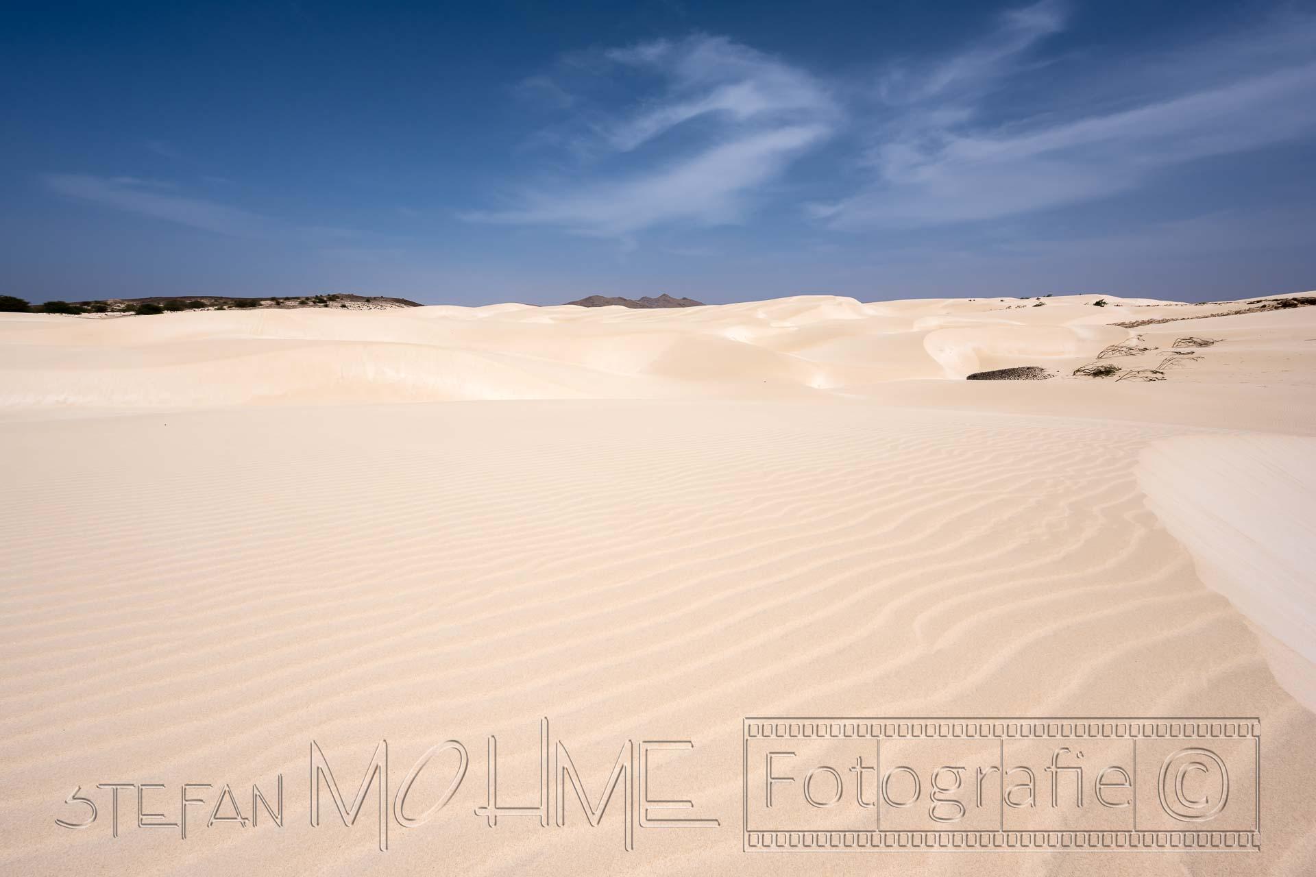 Wüstenlandschaft kapverden Boa Vista