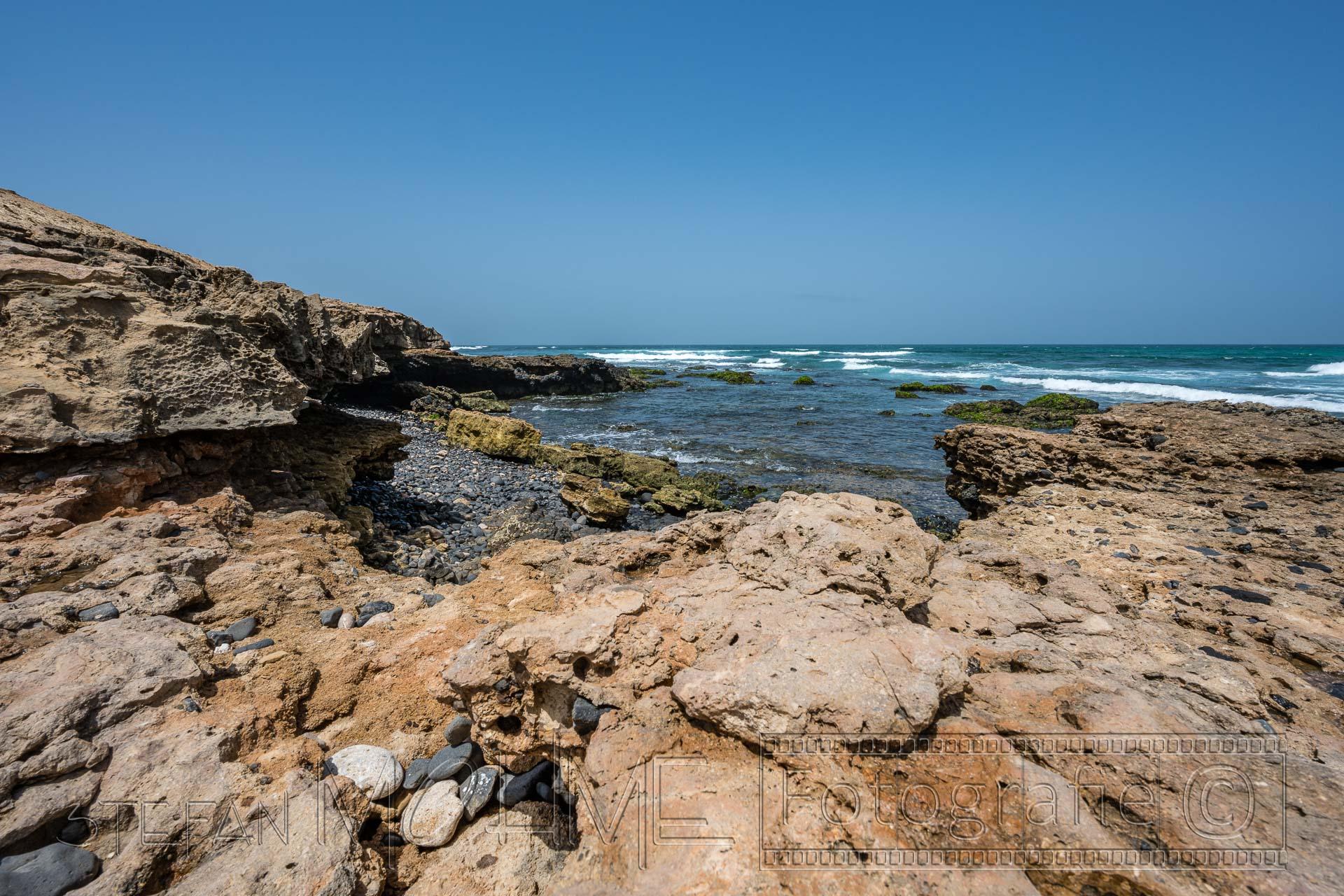 Kiesstrand auf Boa Vista