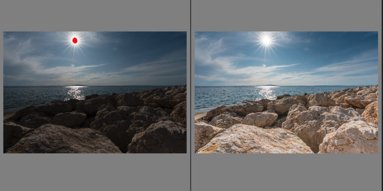 Screenshot Lightroom