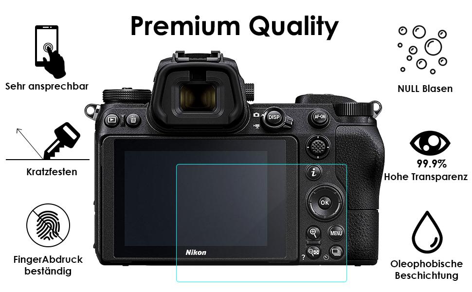 Nikon z7 schutzfolie