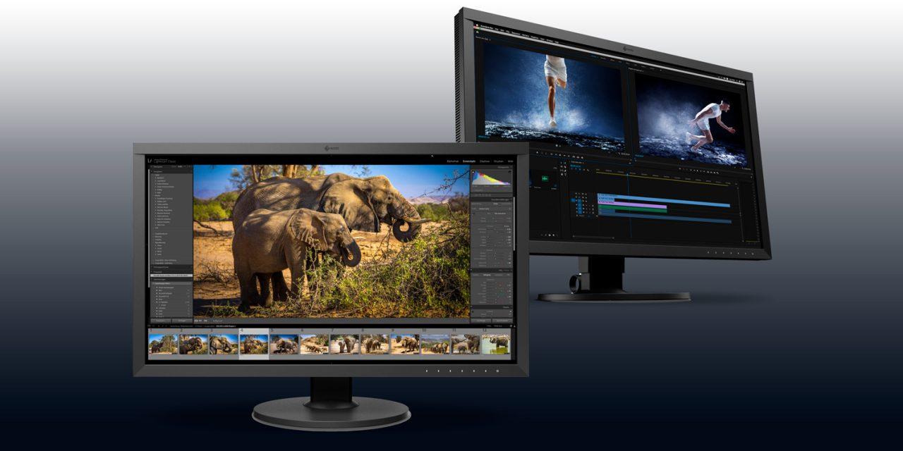 Eizo stellt neue Monitore für die Bildbearbeitung vor.