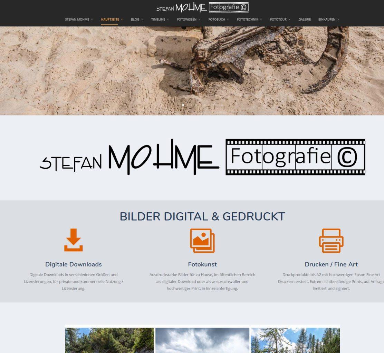 Screenshot Blog Stefan Mohme neu