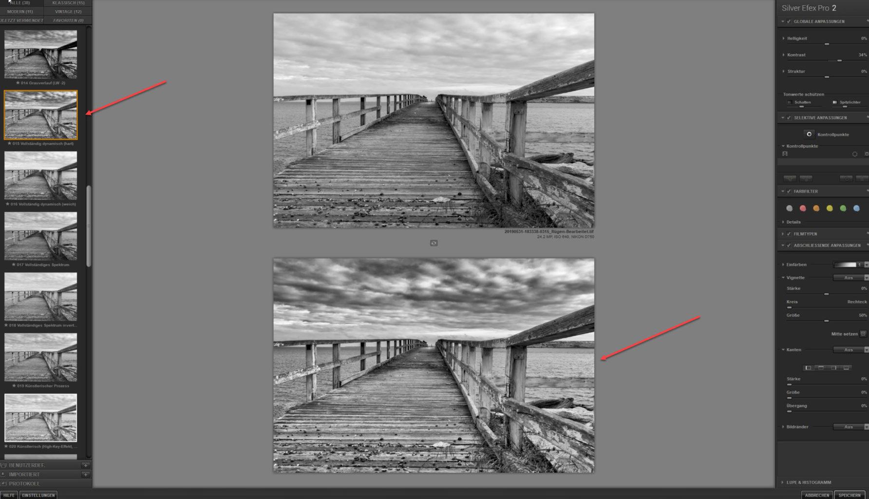Screenshot making Off Seebrücke