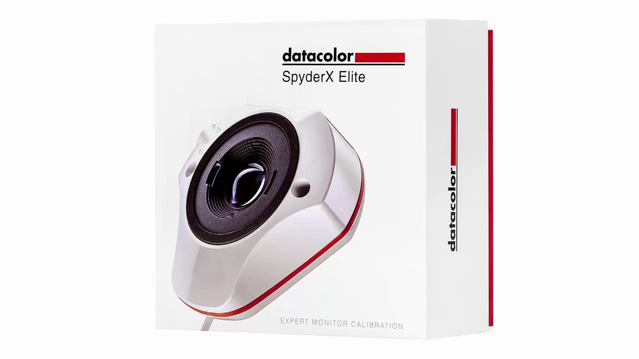 Monitorkalibrierung für die Bildbearbeitung, mit dem Spyder X Elite.
