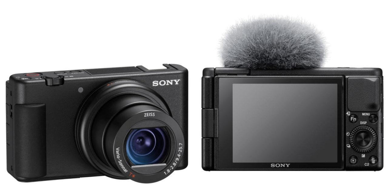 Sony stellt neue Vloggingkamera ZV-1 vor.
