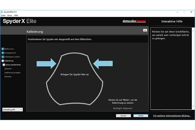 Datacolor Software Screenshot,Fine Art Drucke
