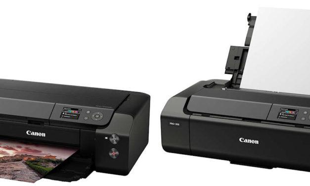 Canon stellt neuen Fine Art Fotodrucker Imageprograf pro 300 vor.