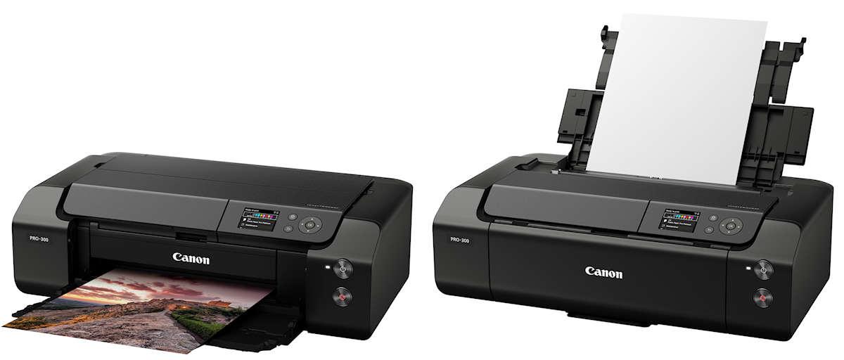 Fine Art Drucker Canon Imageprograf pro 300 vorgestellt.