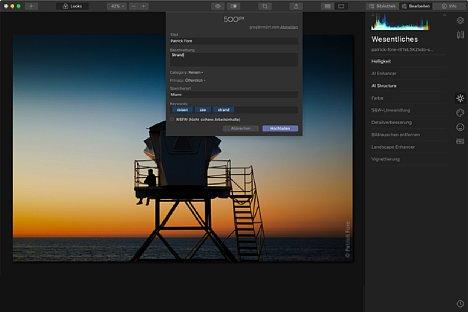 Screenshot Luminar