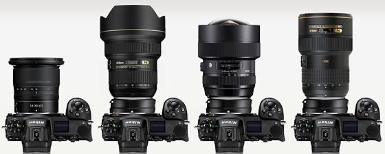 Nikon Ultraweitwinkel Vergleich