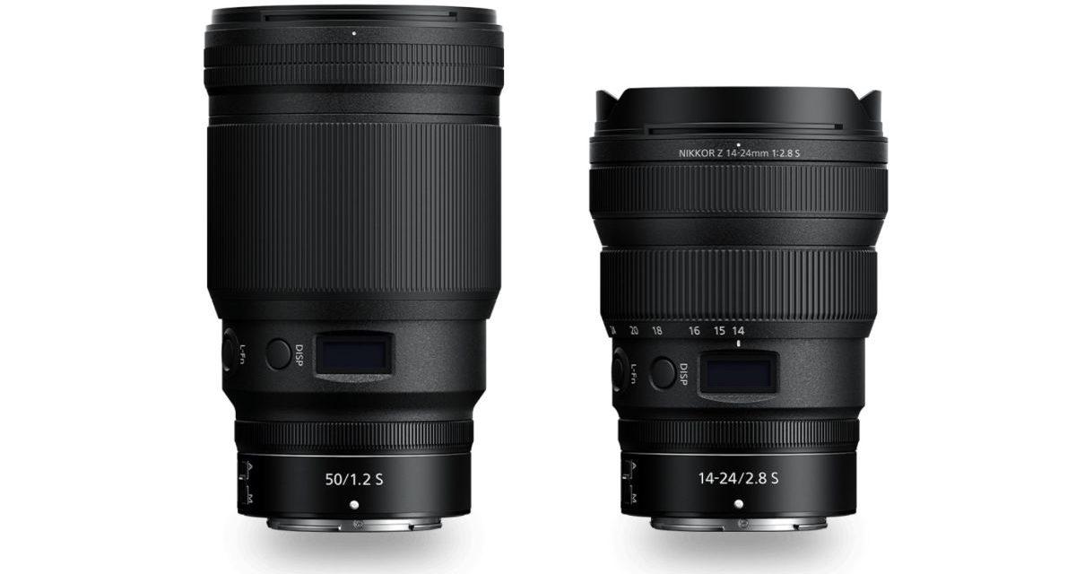 Nikon stellt neue Objektive, Z 50mm F1,2 & 14-24mm F2,8 S vor.