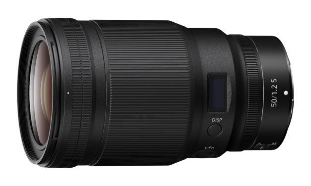 Vorgestellt, Standardbrennweite Nikon z 50 mm f1,2 s Line.