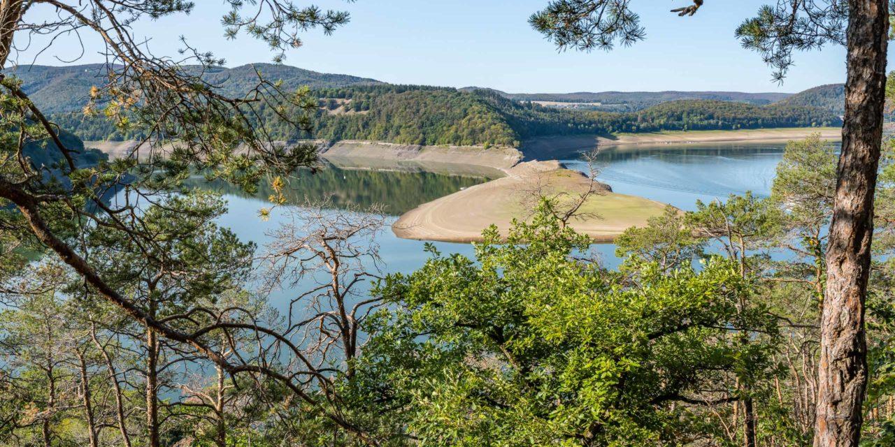 Erste Bildimpressionen vom Nationalpark Kellerwald / Edersee
