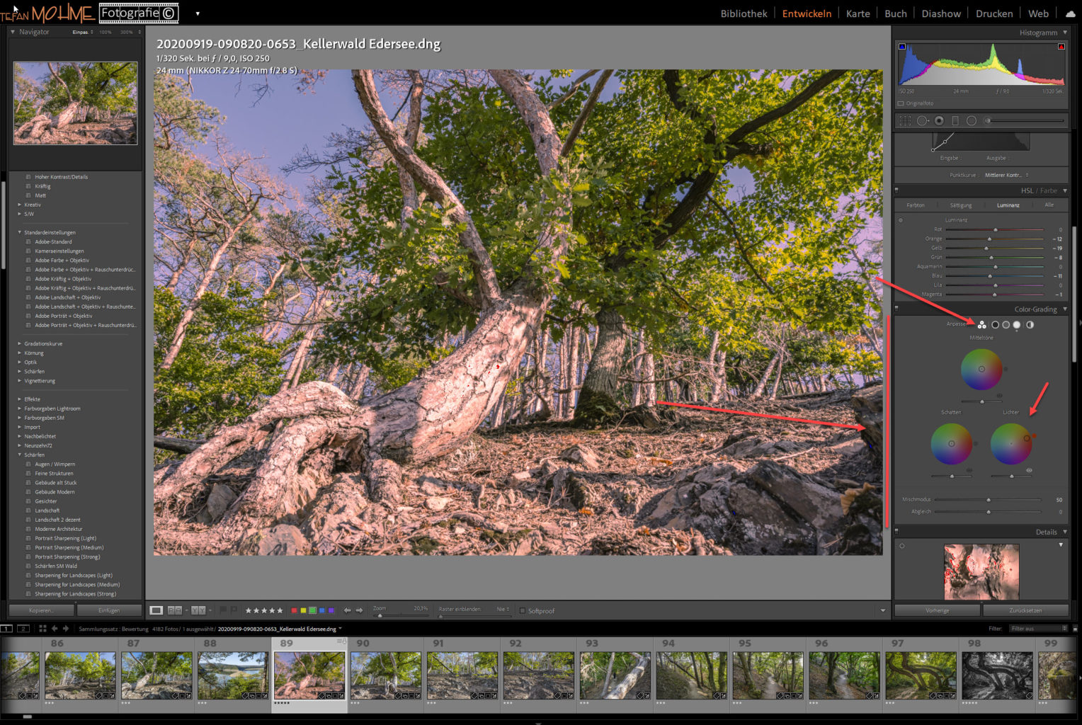 Lightroom Update 10.0 Screenshot