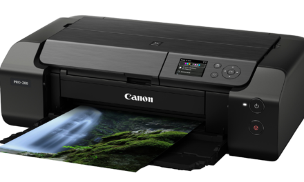 Canon stellt A3+ Profi-Tintenstrahler Pixma Pro-200 vor