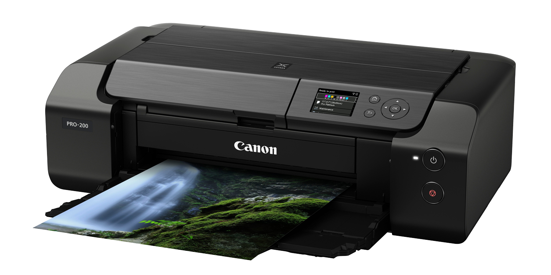 Canon, Drucker, pixma pro 200, nahaufnahme