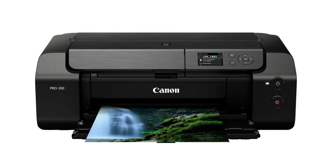 Canon ,Drucker ,pixma pro 200, nahaufnahme