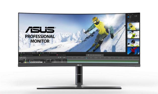 Asus Pro Art 34 V Monitor, wenn es einfach Breit sein muss