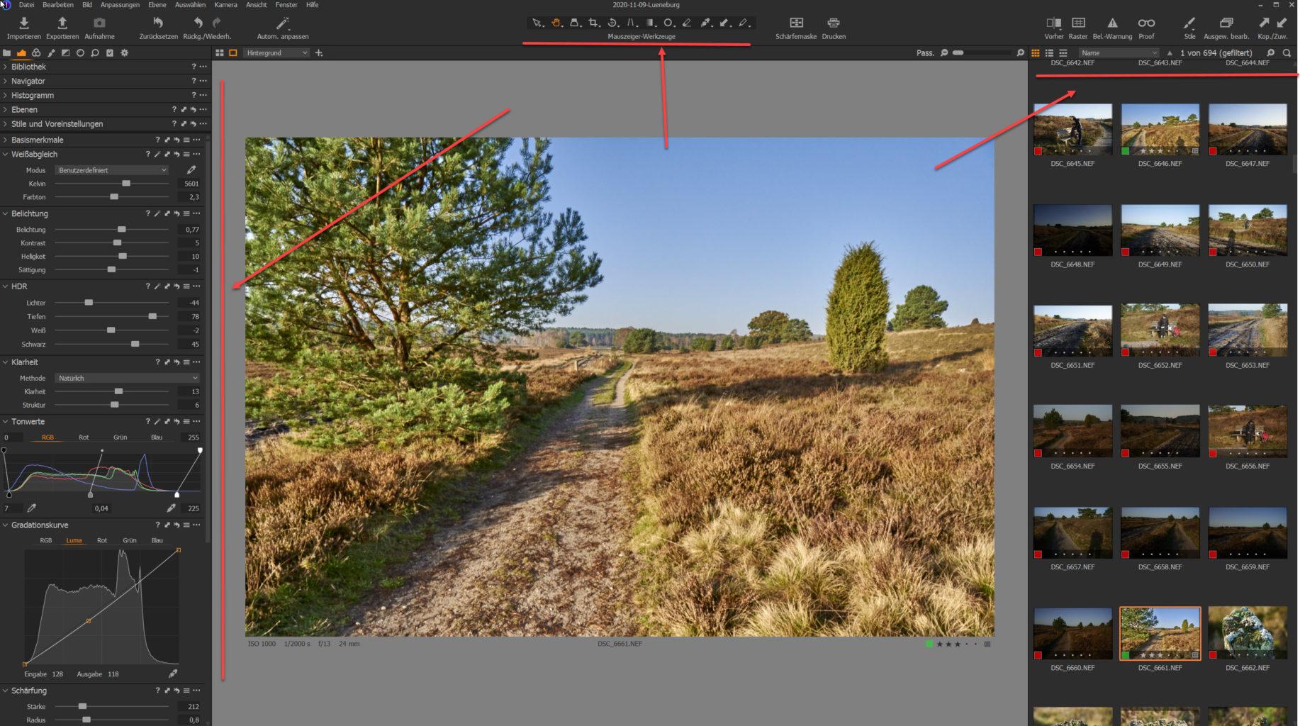 Screenshot Capture One,Workshop, Stefan Mohme