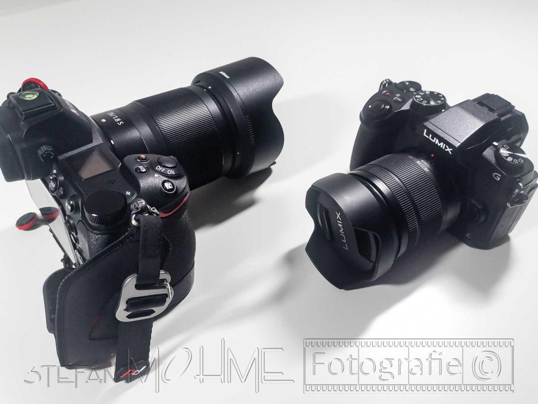 Panasonic LumixG81+Nikonz7