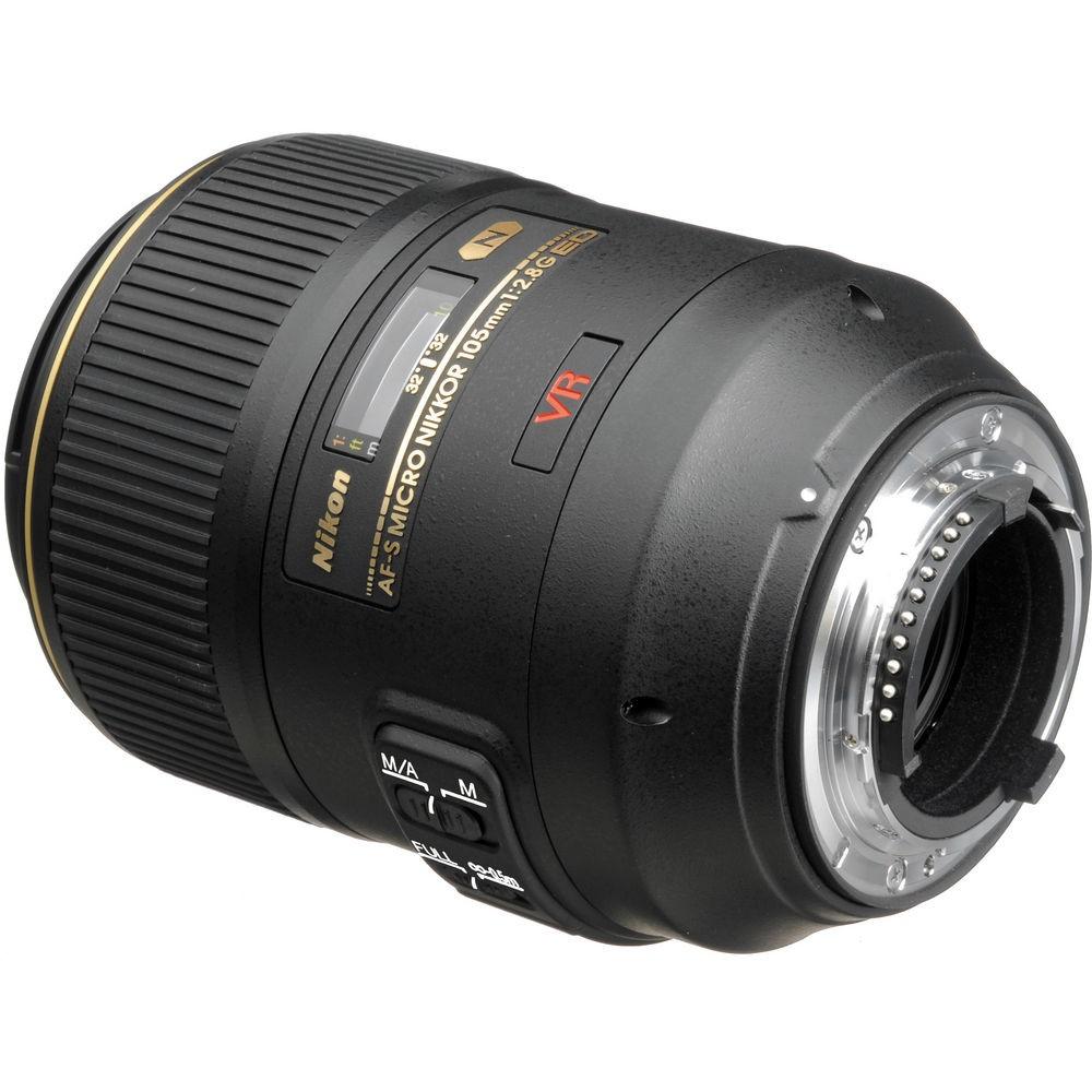 AF-S VR Micro Nikkor 105mm 1:2,8G IF-ED