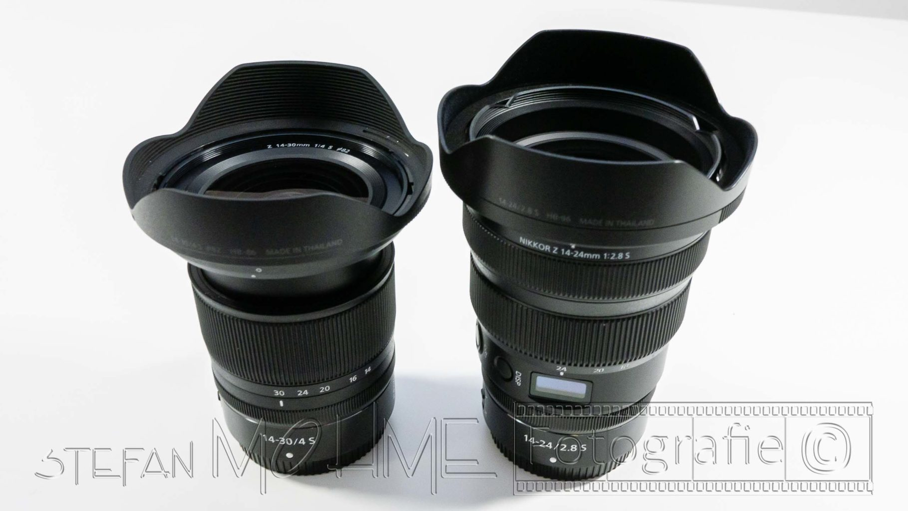 Nikon Weitwinkelzoom 14-24 F/2,8 + 14-30mm F/4