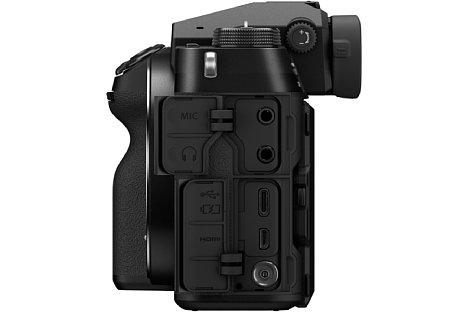 GFX100S, Kamera,Mittelformat,Gehäuse,seite