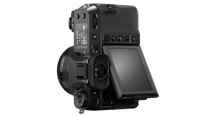 Fuji-GFX100S, Kamera,Mittelformat,Gehäuse,hinten