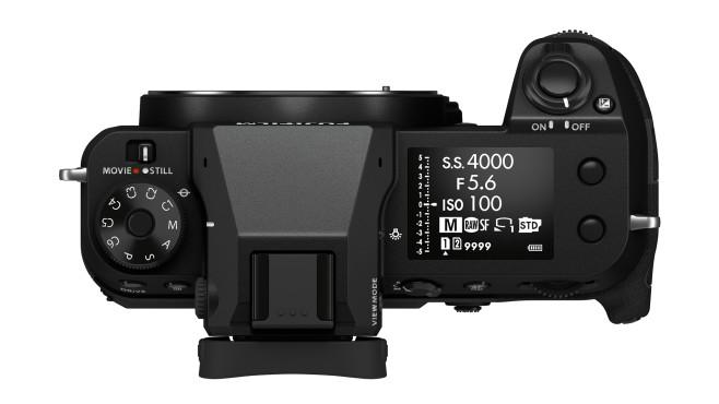 GFX100S, Kamera,Mittelformat,Gehäuse,oben