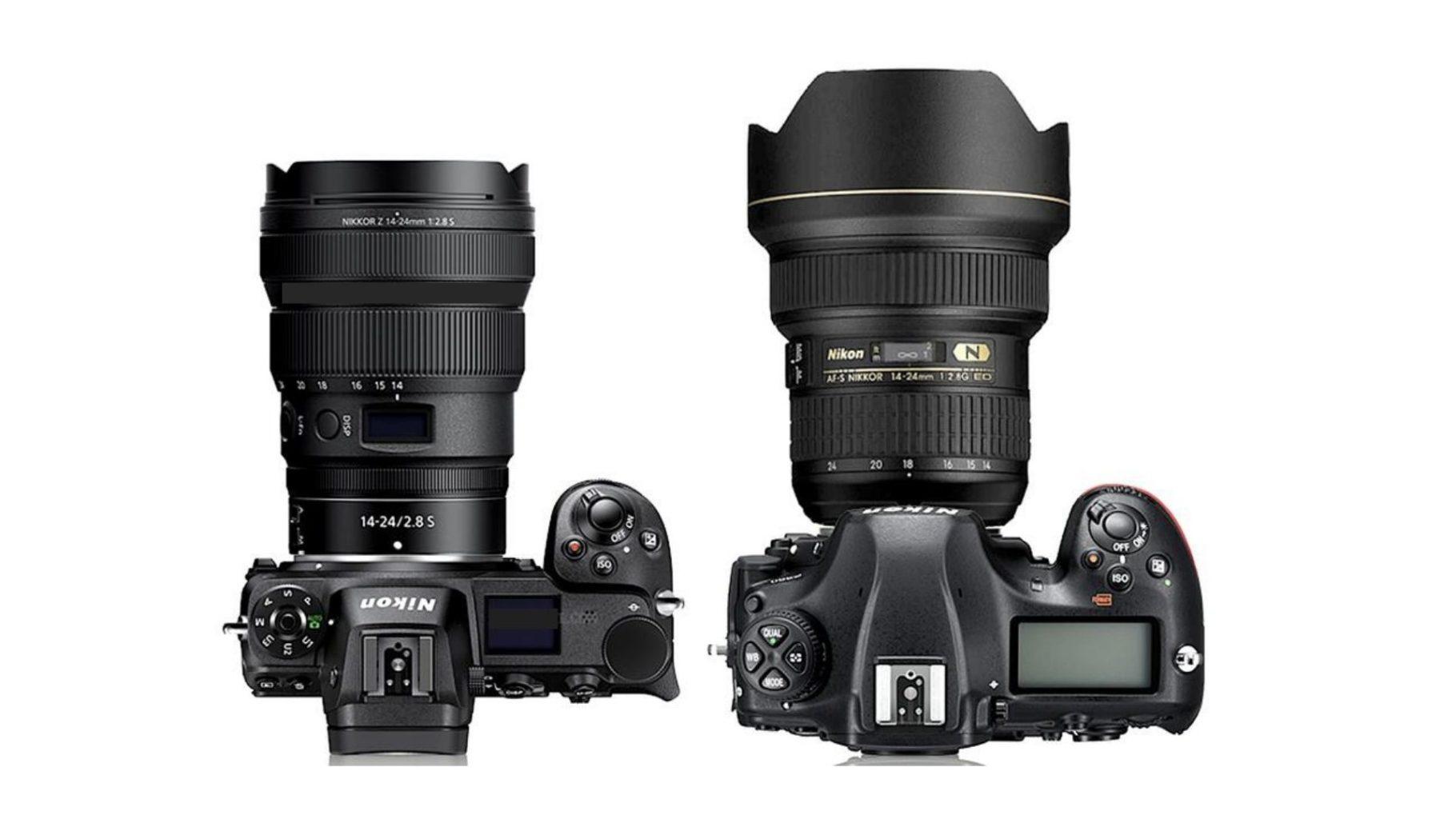 Nikon z7 vs d850