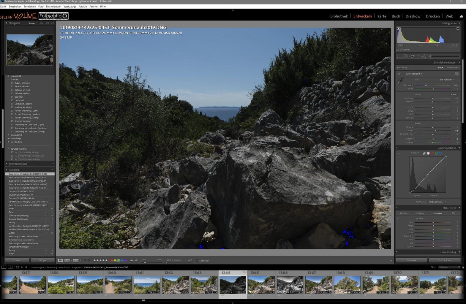 Screenshot, Making OFF, Lightroom, Pag