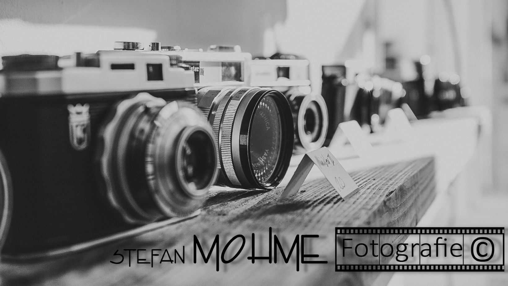Divewrse, alte Kamera ,Logo Stefan Mohme