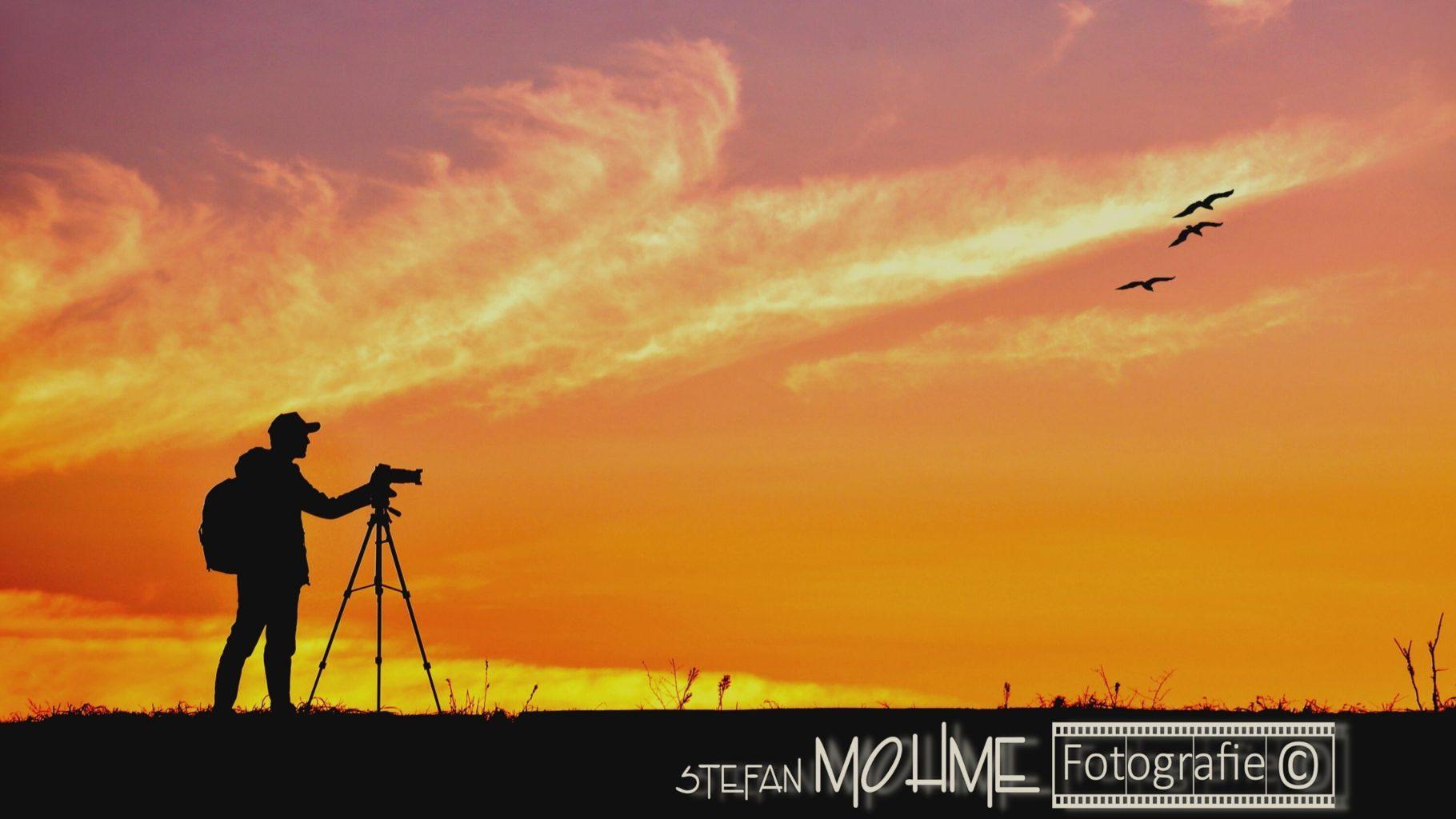 Fotograf Silhouette,Abendhimmel
