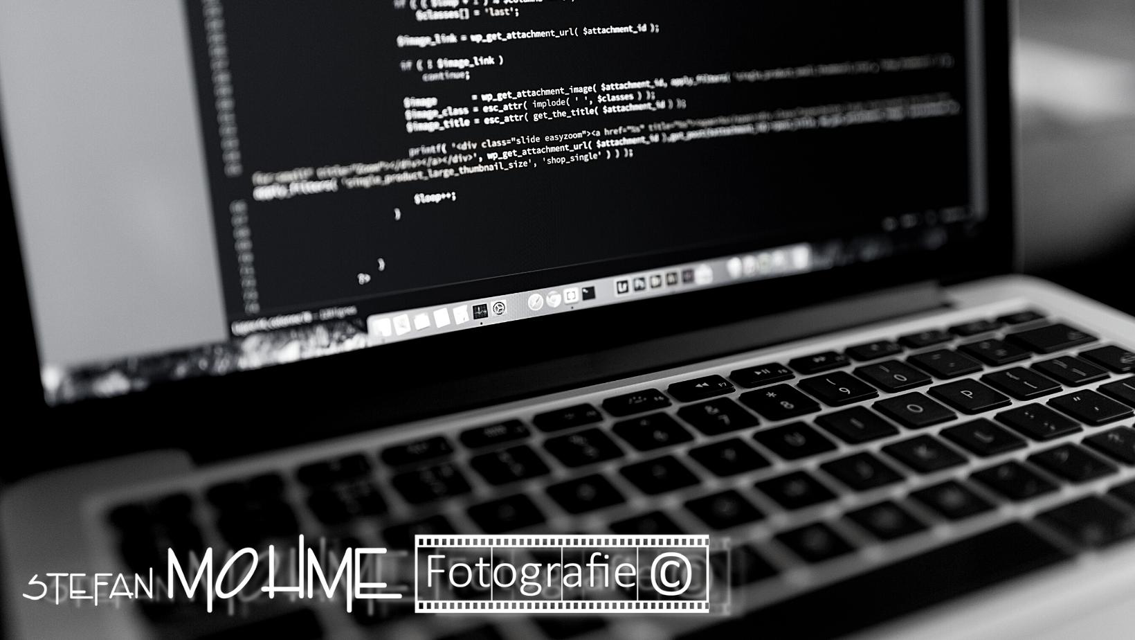 Pc Software, schwarzweiss, Logo StefanMohme
