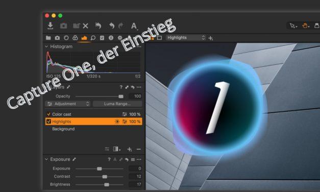 Capture one, die verschiedenen Versionen & die Oberfläche