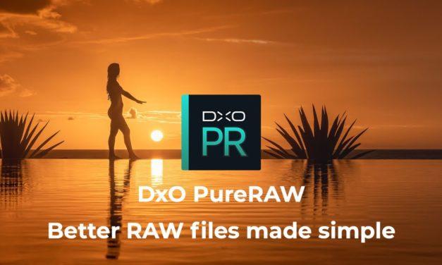 DxO stellt Spezialsoftware PureRaw vor.